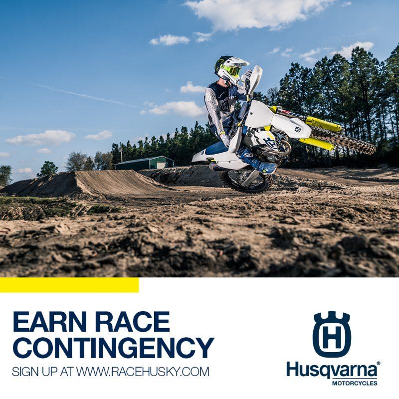 husky motorcycles race contingency logo